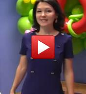 """Зарина Ивантер проводит видео-экскурсию в детском центре """"Лас-Мамас"""""""