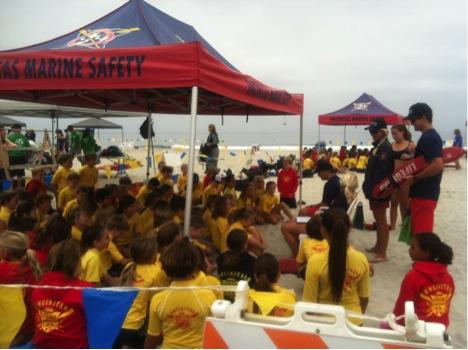 Школа юных спасателей в Америке