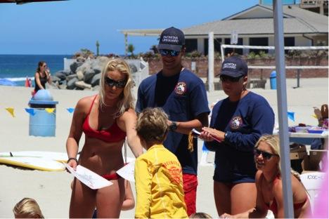 Diplomas to Junior Lifeguards