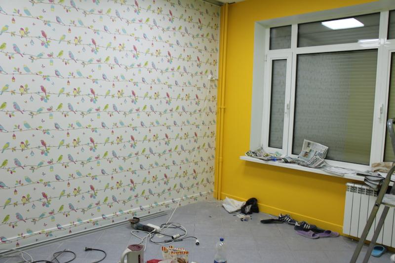 Ремонт в помещении детского сада