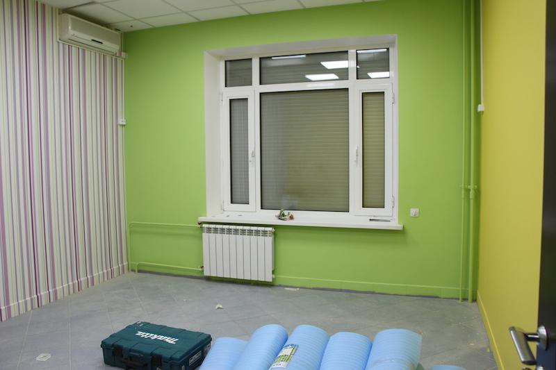Ремонт в детском центре