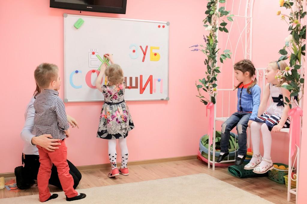 Занятие в детском центре Лас-Мамас в Бутово