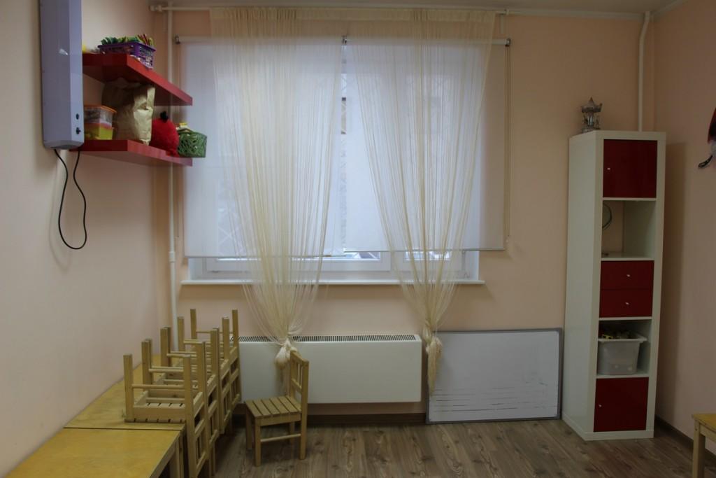 Обновлённый интерьер детского клуба