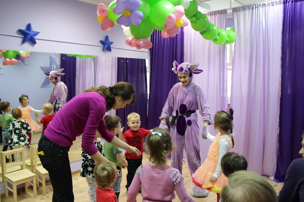 Праздник в детском центре