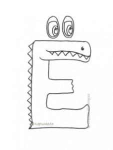 Примеры букв, которые нежелательно использовать на занятиях обучения чтению в детском центре