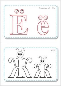 Азбука ассоциаций - учим буквы