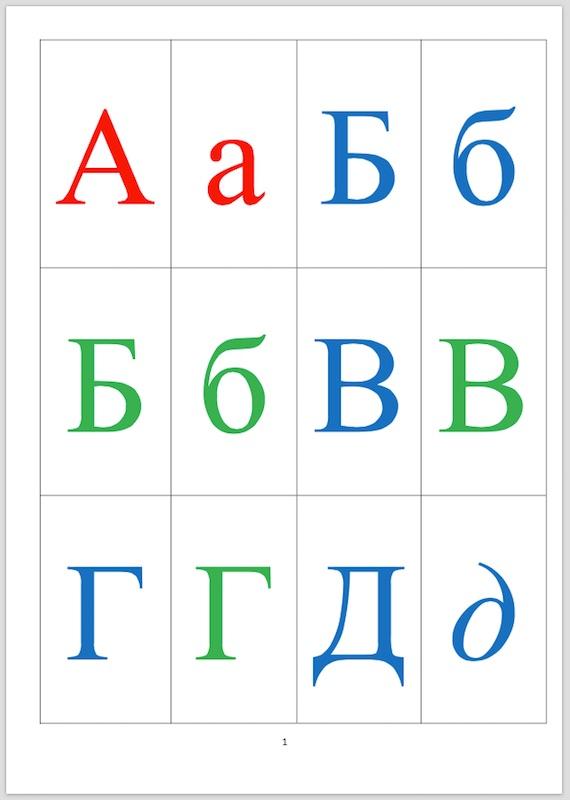 карточки с русским алфавитом распечатать картинки бокал слишком большой