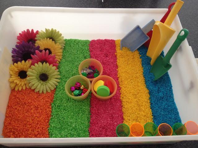 Коробка для сенсорных занятий в детском центре