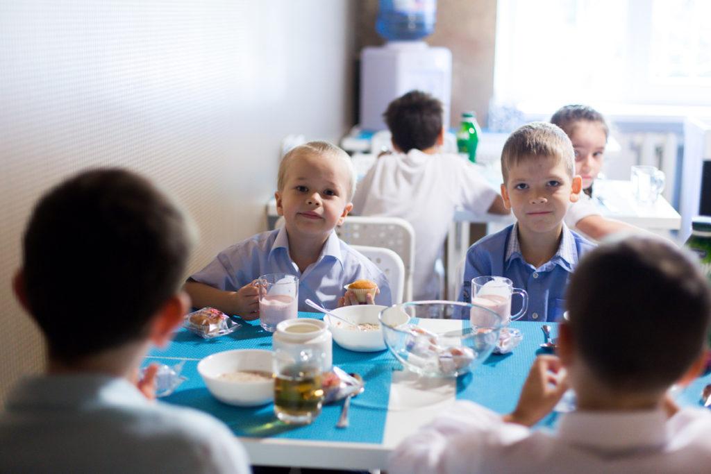 Организация питания в частной школе