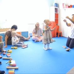Музыкальное занятия с детьми