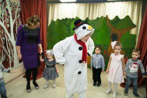 новогодний утренник в детском центре