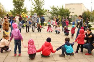 Лето в детском центре