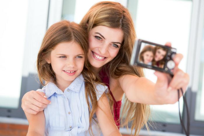 Дети и родители в Инстаграм