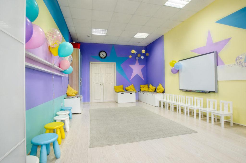 дизайн интерьера в детском центре