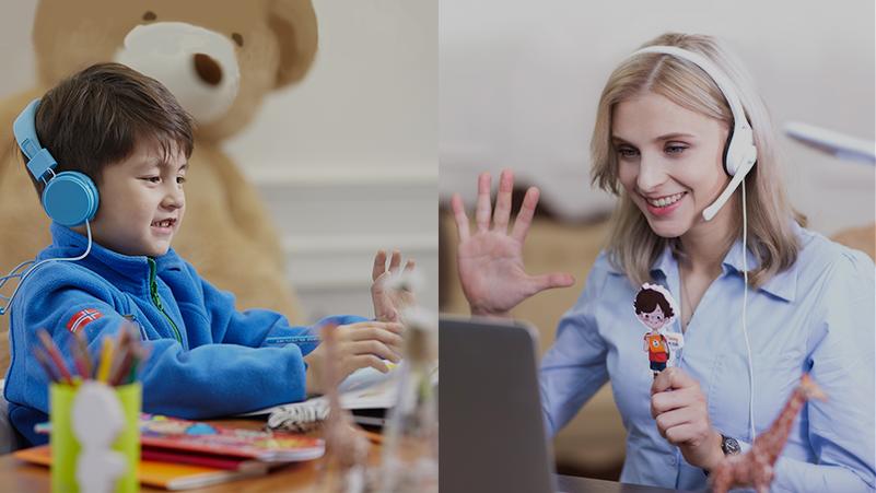 онлайн курс в детском центре