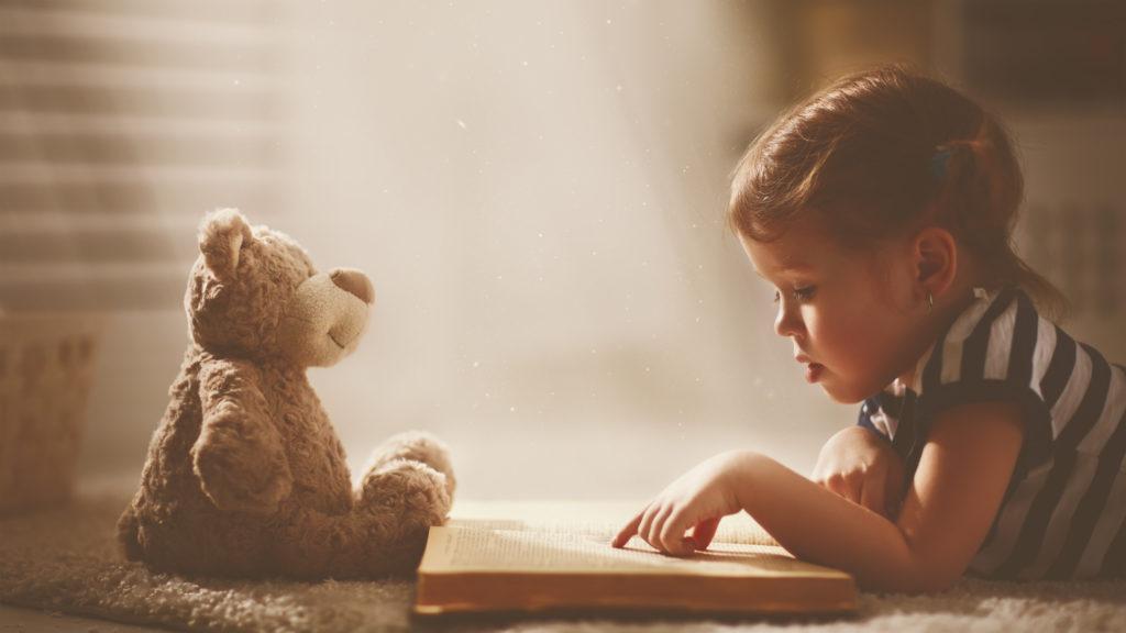 Ребенок который любит читать