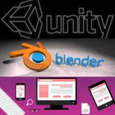 Unity-Blender-HTML-CSS