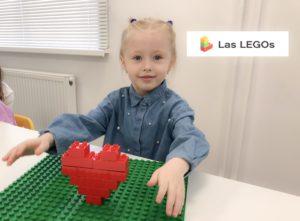 Сердце из Лего