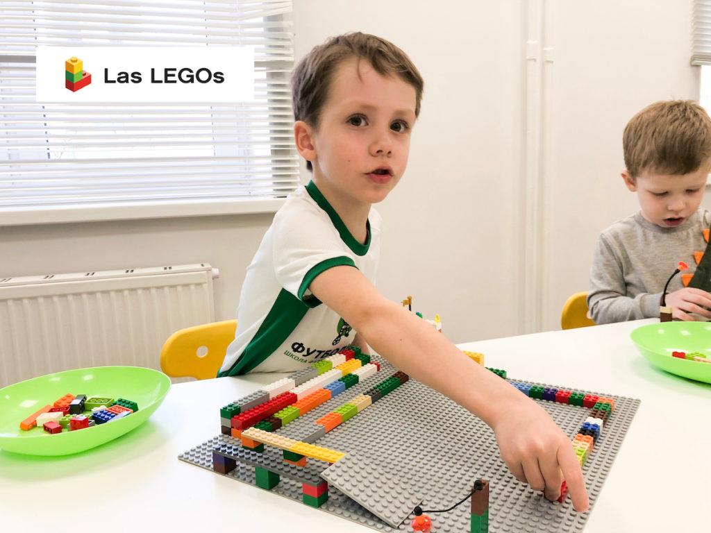 Конструирование из лего в детском центре