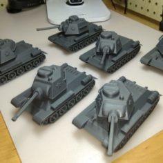 3D модели танка Т-34
