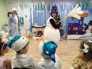 Новогодний праздник в детском клубе