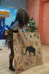 Новогоднее представление в детском центре