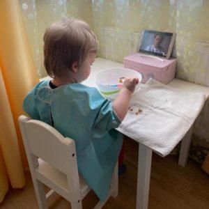 Онлайн занятие по раннему развитию
