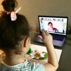 Онлайн-занятия с малышами: как организовать и проводить